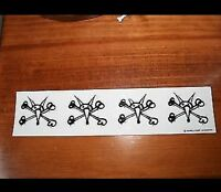 Vintage skateboard sticker powell peralta rat bones santa cruz NOS hawk dogtown