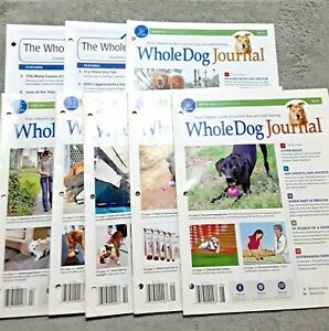 Whole-Dog-Journal-Lot-of-8-2017-Dog-Care-and-Training-Issues