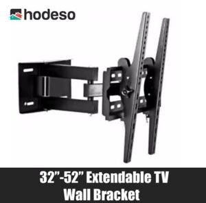 Hodeso-32-034-52-034-Extendable-Universal-Flat-Panel-TV-Wall-Mount-Bracket-Tilt