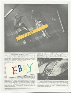 Details about COPY LAND OF THE GIANTS MAGAZINE ARTICLE HELD CAPTIVE BY  SCOTCH TAPE ! COPY