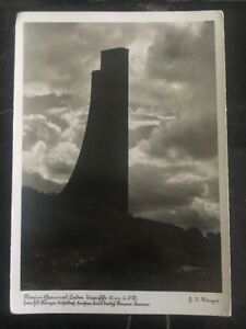 1937 Kiel Germany Real Picture Postcard Cover RPPC To Dortmund Monument
