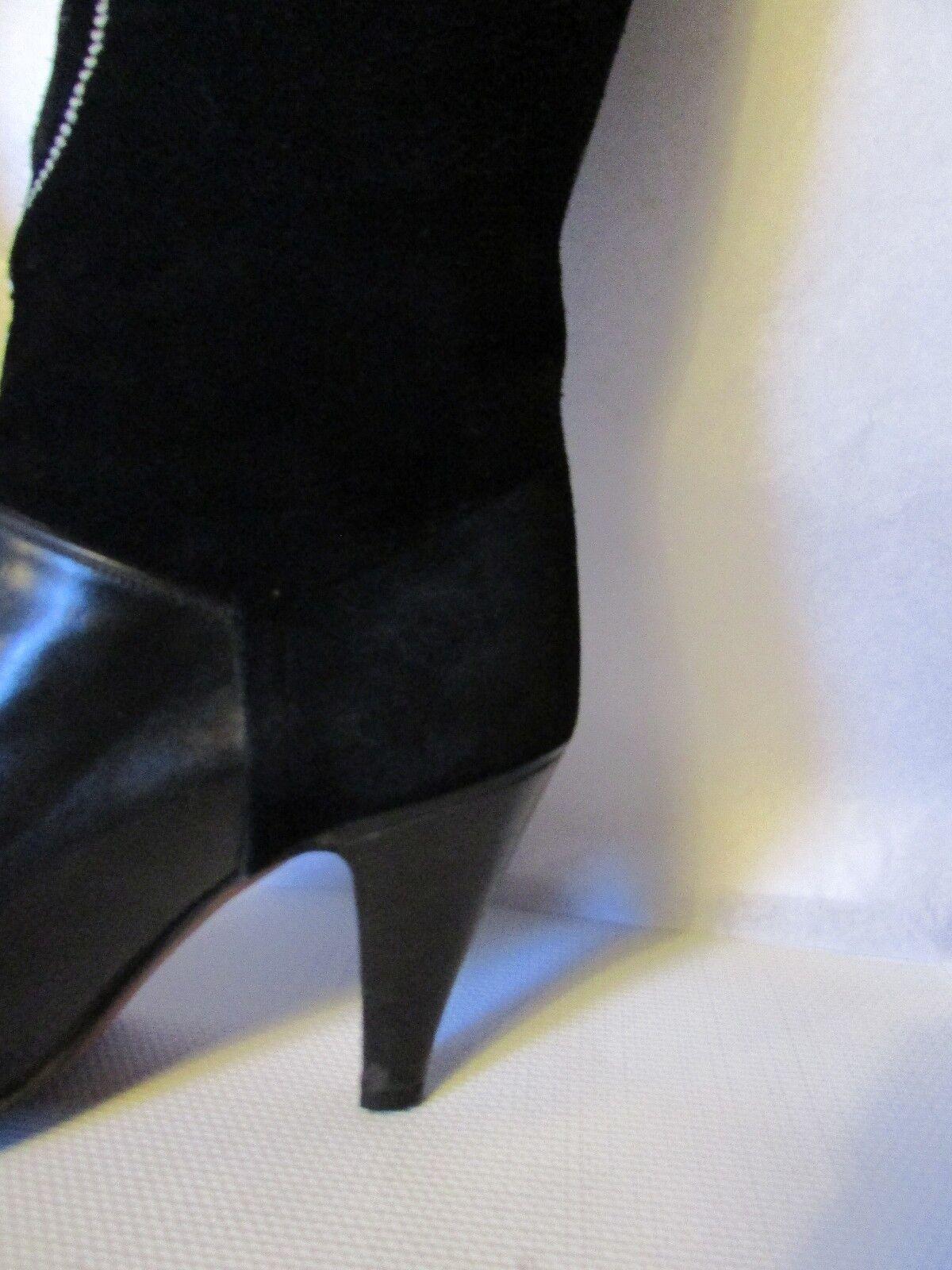 Stiefel Stiefel Stiefel vintage polini wildleder und blackes leder größe 36,5 75837e