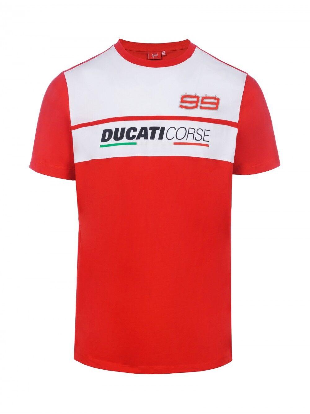 Jorge Jorge Jorge Lorenzo Official 2018 Ducati Corse T-Shirt  - 18 36014 | Üppiges Design  | Merkwürdige Form  | Lassen Sie unsere Produkte in die Welt gehen  02fc09