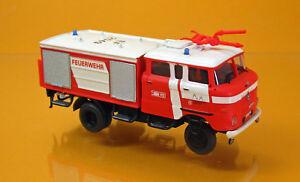 MCZ-Espewe-03-127-IFA-W-50-LA-TLF-16-GMK-Feuerwehr-Erfurt-leuchtrot-Scale-1-87