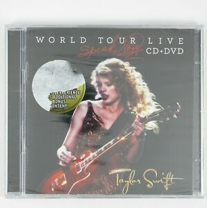 TAYLOR-SWIFT-Speak-Now-World-Tour-Live-CD-DVD-2011-COUNTRY-POP-SEALED-UNPLAYED