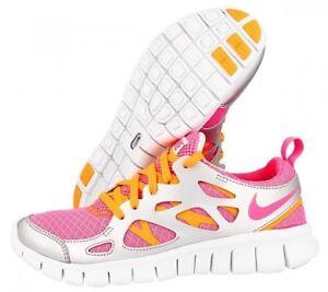nike free run 5 girls Nike Free Run 2.0 GS ® Girls ( UK Sizes: 5 & 5.5 ) Pink Glow ...