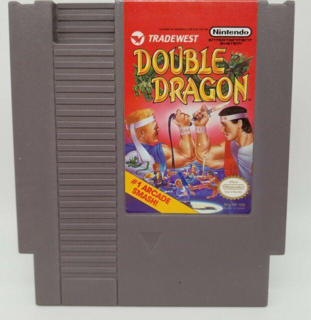 Double Dragon (Nintendo Entertainment System, 1988) Cartridge Only. USA Seller.