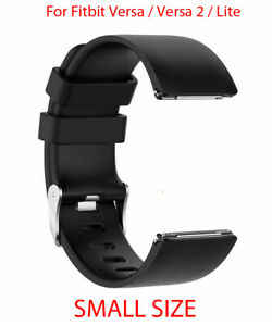 Strap-For-Fitbit-Versa-Versa-2-Versa-Lite-Replacement-Band-Buckle-Black-SMALL