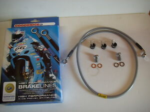 Goodridge-Extended-57-034-Stainless-Front-Brake-Line-for-Harley-Davidson-0019