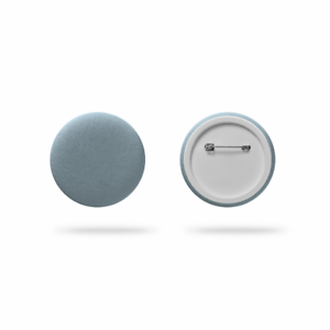 Reflective badge Oreflector reflective pin brand new silver 35 mm
