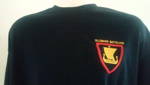 NORWEGIAN ARMY TELEMARK BATTALION T-SHIRT