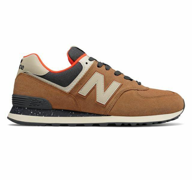 Men's New Balance ML574HVB shoes Size 8 thru 12  Bronze