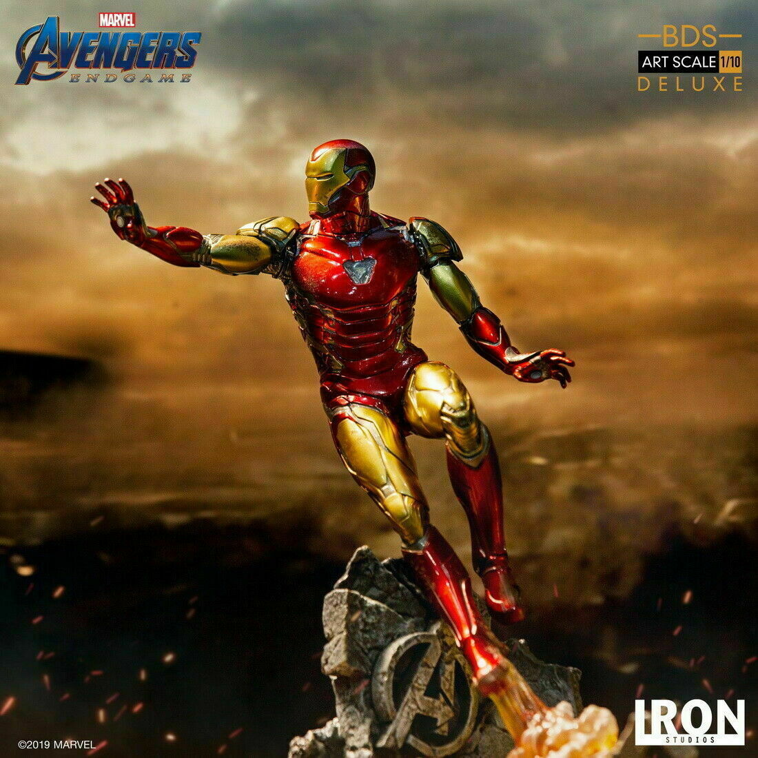 Stock Iron Studios 1/10 The Avengers Iron Man MK85 Statue Deluxe Ver.Figure Toy on eBay thumbnail