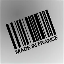 MADE IN FRANCE PEUGEOT RENAULT CITROEN DS3 Funny Rude Car Window Bumper Sticker