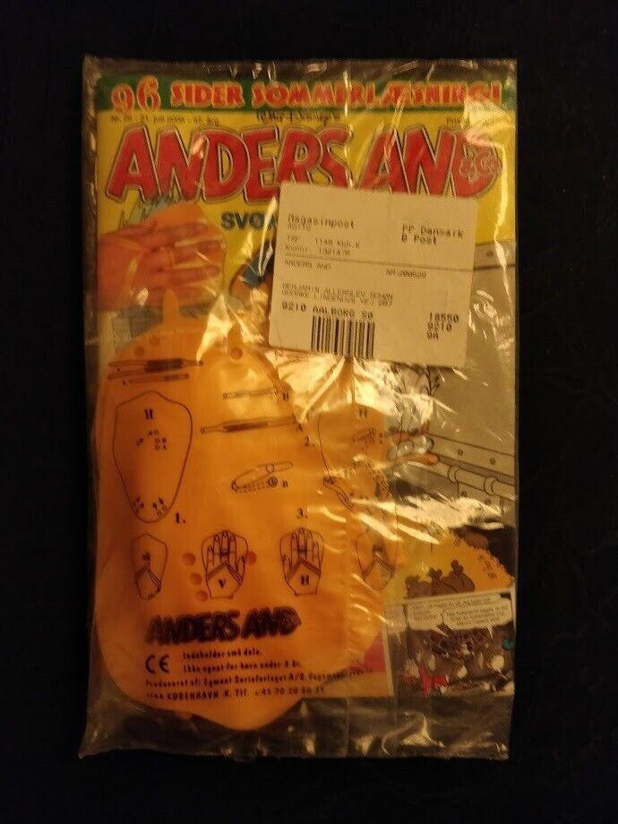 Anders And - uåbnede, Tegneserie