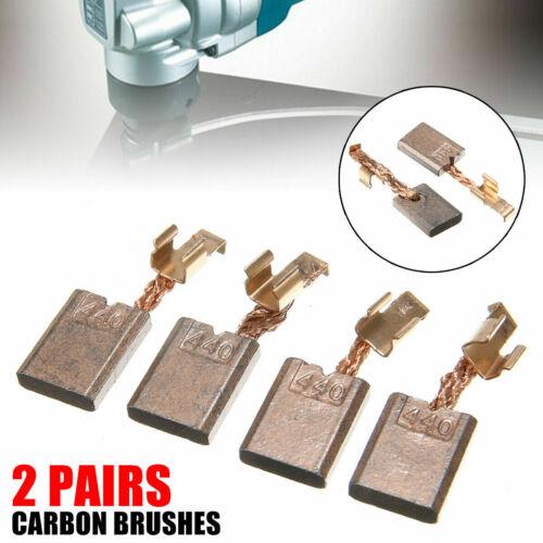 2Paar Kohlebürsten Motorkohlen Kohlen für Makita CB-440 18V DHP456 DTD140 DHP458