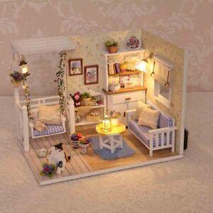 DIY-Romantic-Summer-Doll-House-LED-Dollhouse-Cabin-Miniature-Kit-Christmas-Gift