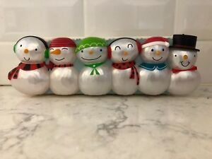 Hallmark-Christmas-Concert-Snowmen-Section-1-6-Snowmen-Wireless-New-Tags-2014