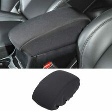 1pcs Center Console Armrest Pad Cover For Jeep Cherokee 2014 2019 Black Fits Jeep Cherokee