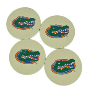 NCAA-Florida-Gators-Absorbent-Ceramic-Coasters-Set-of-4-Drinks-Beverage-Table