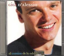 """GIGI D'ALESSIO - RARO CD IN SPAGNOLO """" EL CAMINO DE LA EDAD """""""