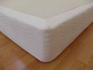 New! CalKing Wooden Box Spring Foundation for all mattress Types-California King