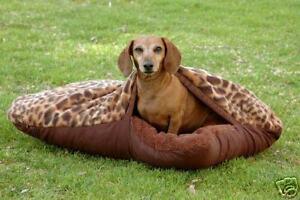 Image Is Loading Custom Dog Sleeping Bag Bed Pillow Pets Burrow
