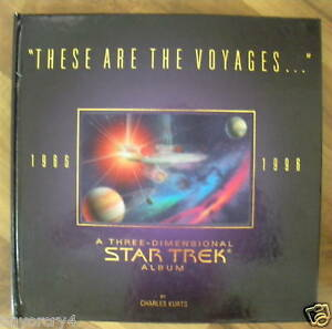 STAR-TREK-3-D-ALBUM-BOOK-034-THESE-ARE-THE-VOYAGES-034-NICE