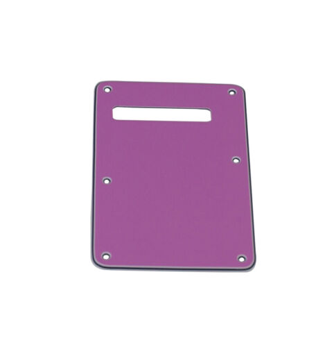 Pickguard Standard Stratocaster Squier SSS Purple with Backplate Screws