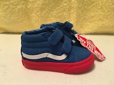 0ae7bbb01c item 2 VANS SK8-MID REISSUE V Blue Red (Vans Cosplay Sneaker Shoe TODDLER  SIZE 4.5 NEW -VANS SK8-MID REISSUE V Blue Red (Vans Cosplay Sneaker Shoe  TODDLER ...