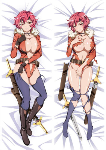 Kuroinu Dakimakura Olga Discordia Anime Girl Hugging Body Pillow Case Cover
