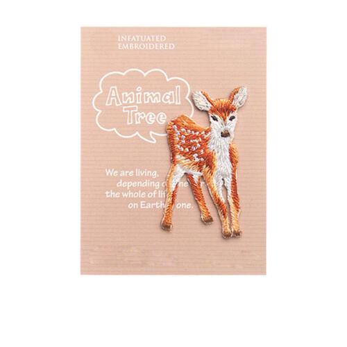 Animal Arbre Bordure en Dentelle Broderie Costume Dentelle Applique Craft À faire soi-même motif de dentelle 1 pc