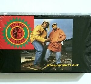 PETE ROCK & CL SMOOTH SEALED STRAIGHTEN IT OUT TAPE CASSETTE 92 ELEKTRA RECORDS