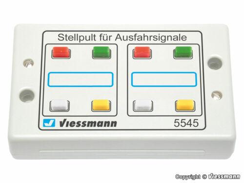 Viessmann 5545 Tastenstellpult 4-begriffig