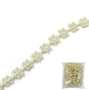 Snowflake-Pearl-Beads-Garland-Rope-For-Wedding-Party-Hanging-Decoration-Craft