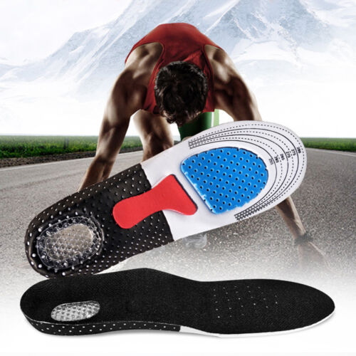 1 Pair Unisex Insole Orthotic Arch Support Sports Running Shoe Pad Feet Care New