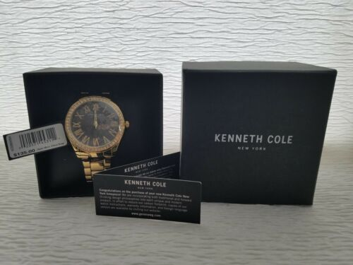 Kenneth Cole New York Women's 3-Hand Crystal Accented Bracelet Watch, 38mm