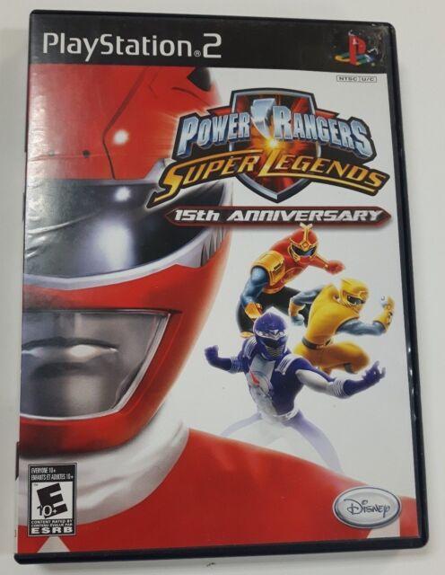 Power Rangers: Super Legends (Sony PlayStation 2, 2007) NTSC