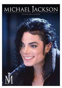 Official 2019 Michael Jackson Calendar Music Artist A3 Wall Hanging Gift Present