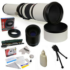 Opteka 650-2600mm HD Telephoto Lens for Canon EOS 7D 10D 20D 20Da 30D 40D 50D