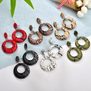 Vintage-Gothic-Punk-Snakeskin-Temptation-Dangle-Earrings-Women-Jewelry-Gifts