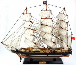 Detailed Assembled Wooden Model of The Cutty Sark