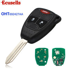 New Uncut Remote Car Key Fob 315MHz ID46 for Chrysler Jeep Dodge FCC:OHT692427AA
