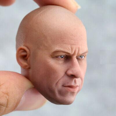 1//6 Scale Custom Vin Diesel Acion Figure Head!