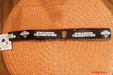 MLB San Francisco Giants SF Giants 2012 World Series Champions Lanyard Keychain