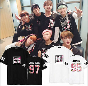 KPOP-Bangtan-Boys-T-shirt-Unisexe-Chemise-BTS-IN-Bloom-Part2-JUNGKOOK-Tops-V