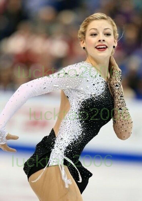 2018 new style Girl Figure skating Ice Skating Competition  Dress Twirling  best fashion
