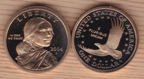2004-S  SAC$  Sacagawea Dollar Frosty Cameo Proof