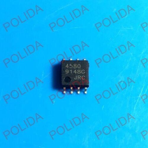 10PCS  IC JRC SOP-8W DMP-8 NJM4580M NJM4580 JRC4580 4580