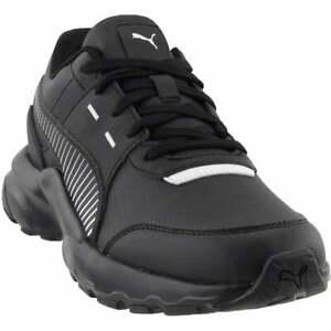 Puma-future-runner-l-Casual-Shoes-Black-Mens